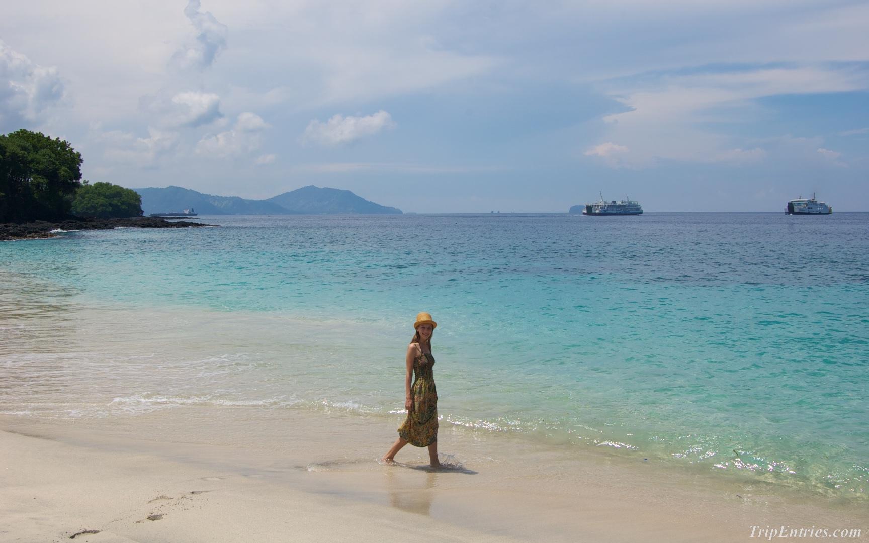 Пляжи Бали - White Sand Beach