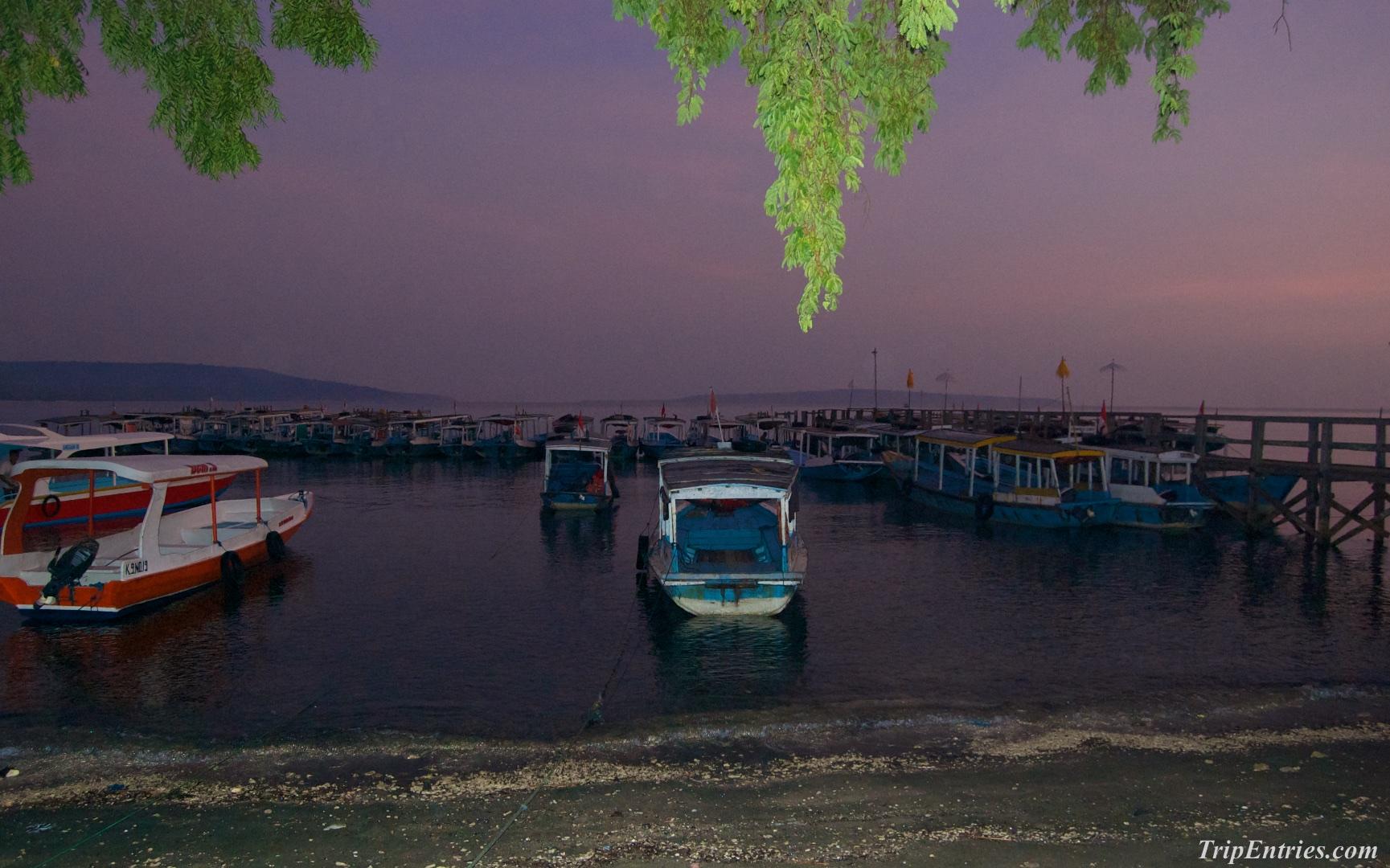 Остров Менджанган. Снорклинг на рассвете