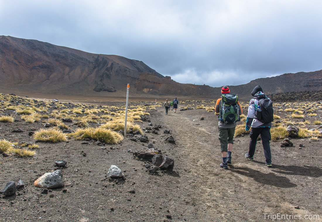 Tongariro Alpine Crossing - Национальный парк Тонгариро