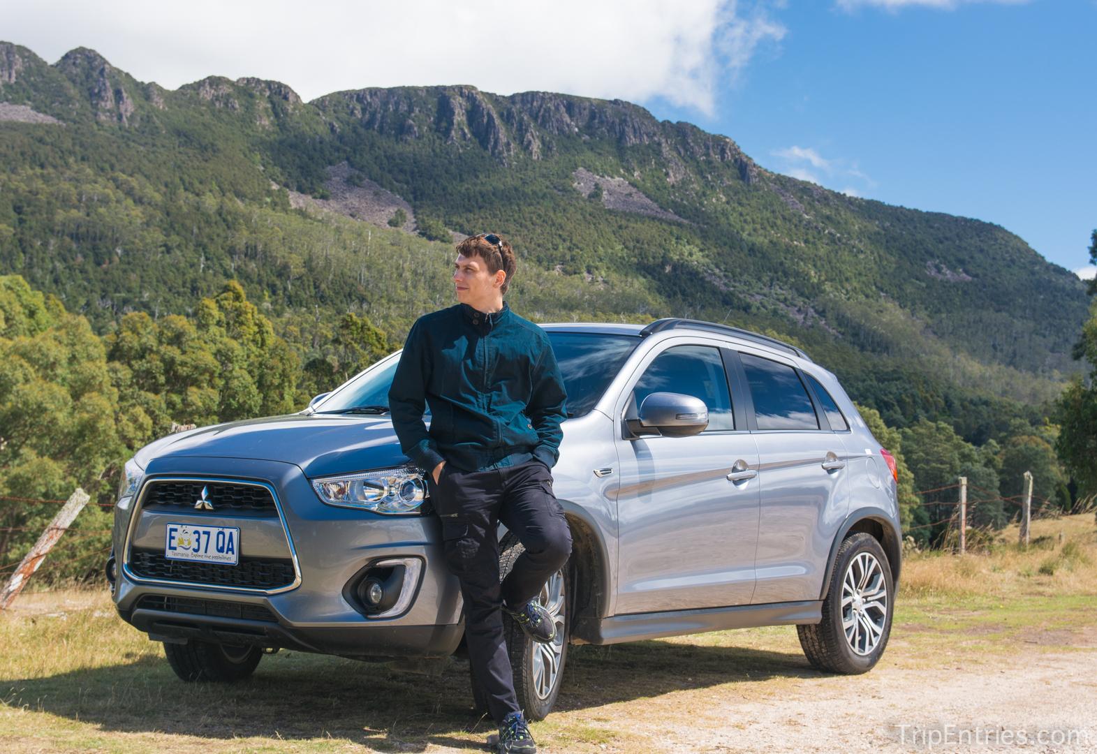 Тасмания: водопады Liffey Falls и первая поездка на машине